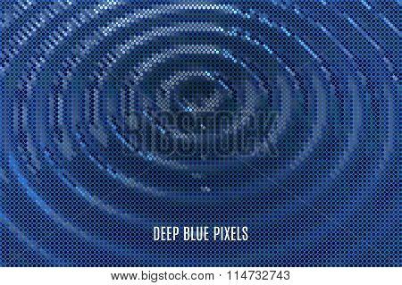 digital wavy background