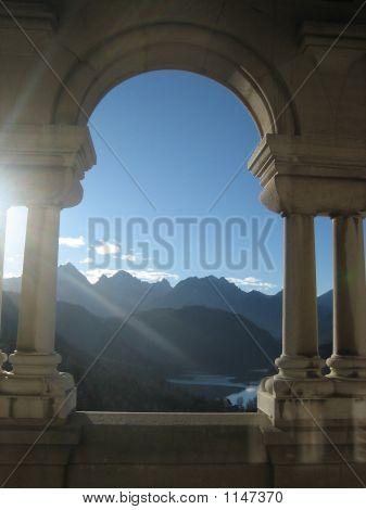 Castle Arch View
