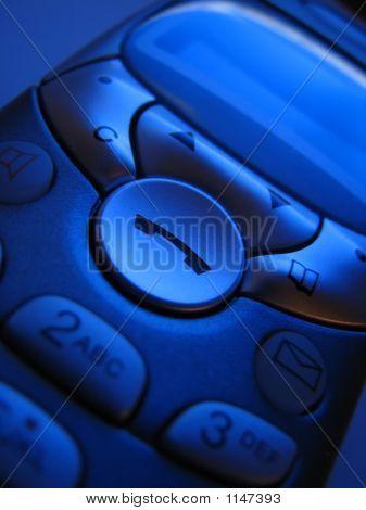 Phone Dial Blue