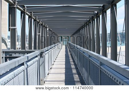 Walkway on Gantry