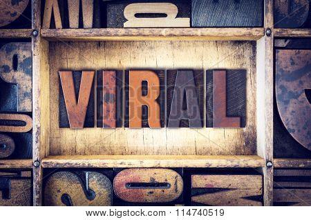 Viral Concept Letterpress Type