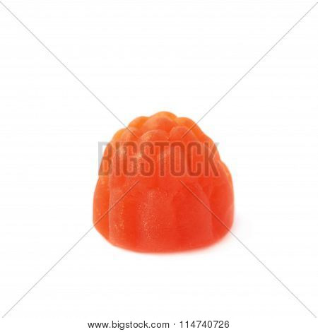 Raspberry shaped candy