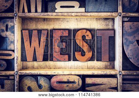 West Concept Letterpress Type