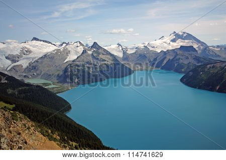 Garibaldi Lake And Massif.