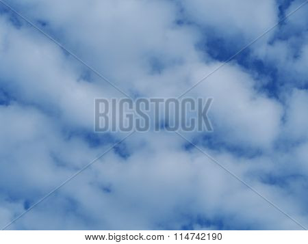 Clouds in the blue sky, Thailand
