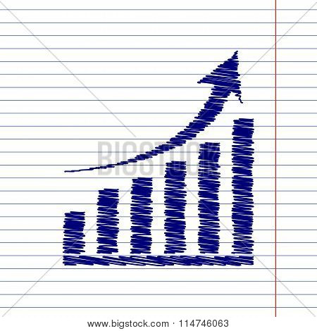 Growing graph sign