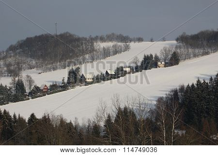 chalet slope