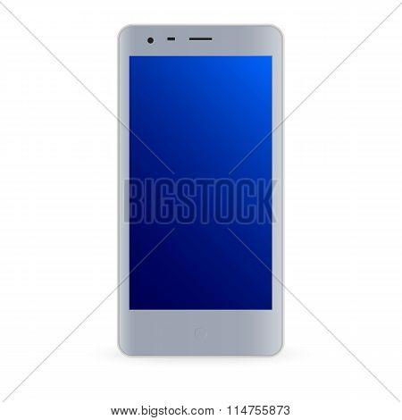 Modern smartphone illustration