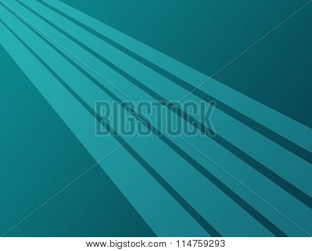 Turquoise striped background.