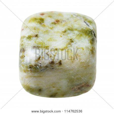 Moss Agate (mocha Stone) Gemstone Isolated