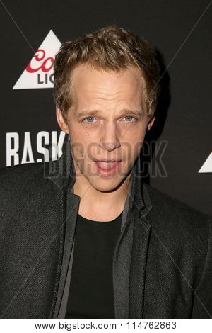 vLOS ANGELES - JAN 14:  Chris Geere at the Baskets Red Carpet Event at the Pacific Design Center on January 14, 2016 in West Hollywood, CA