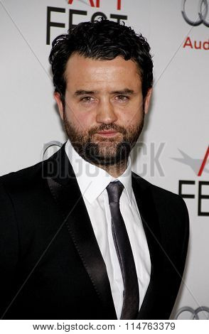 HOLLYWOOD, CALIFORNIA - November 10, 2011. Daniel Mays at the AFI FEST 2011