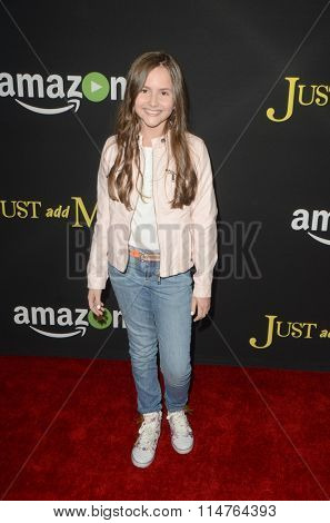 LOS ANGELES - JAN 14:  Ava Acres at the Just Add Magic Amazon Premiere Screening at the ArcLight Hollywood Theaters on January 14, 2016 in Los Angeles, CA