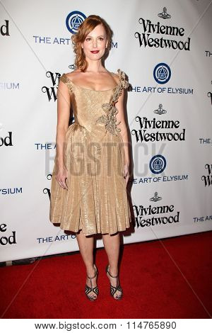 vLOS ANGELES - JAN 9:  Alicia Witt at the The Art of Elysium Ninth Annual Heaven Gala at the 3LABS on January 9, 2016 in Culver City, CA