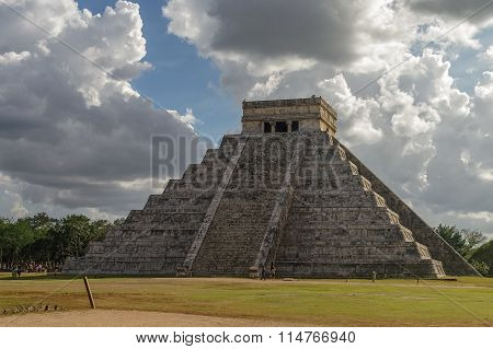 Mayan Pyramid Of Kukulkan