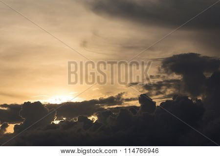 Sunset Sky, Dramatic Moody Sky