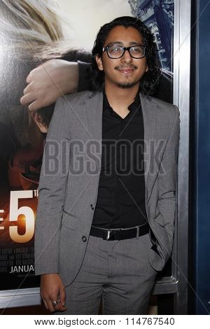 vLOS ANGELES - JAN 14:  Tony Revolori at the The 5th Wave Los Angeles Premiere at the Pacific Theatres At The Grove on January 14, 2016 in Los Angeles, CA