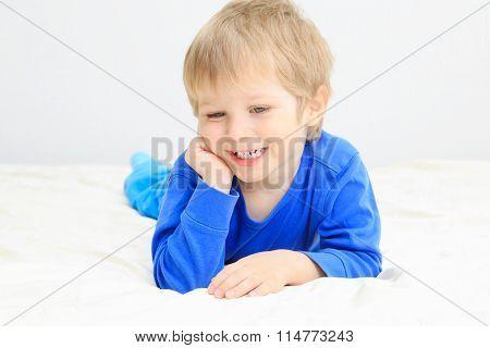 cute smiling little boy portait