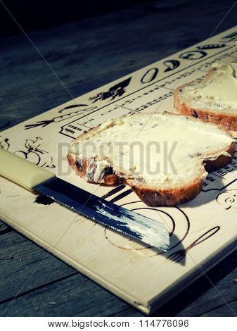 Sandwich With Butter