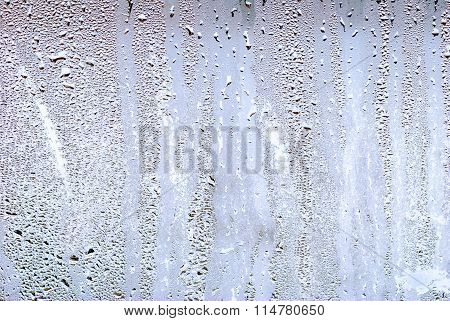 Misted glass droplets