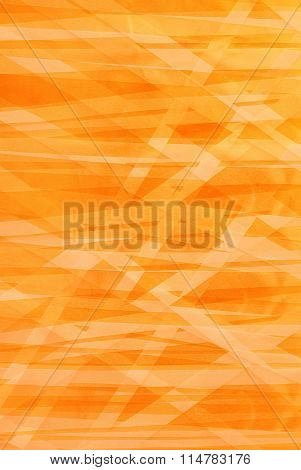 Orange And Yellow Stripes - Abstract Backround - Graphic Design