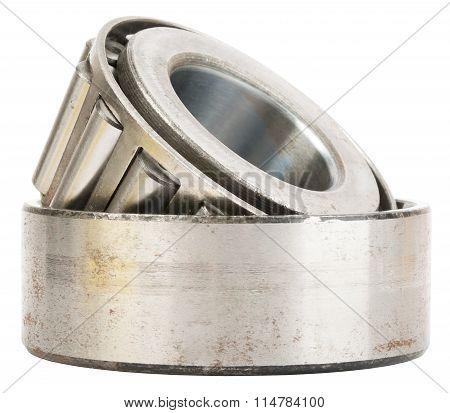 Roller bearing on white
