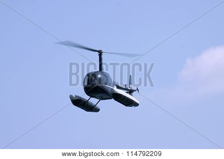 Helicopter With Floats
