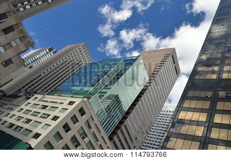 Nyc - Looking Up.