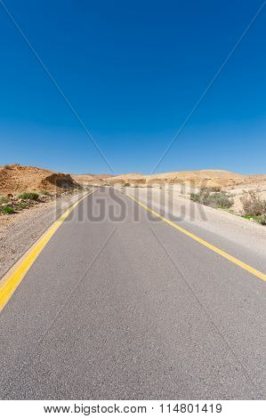 Road In Sands