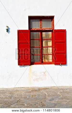 Greece Antique     Window
