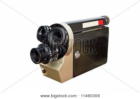 Retro Movie Camera 8Mm 16Mm