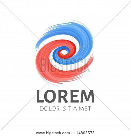 Logo template. Emblem symbol.