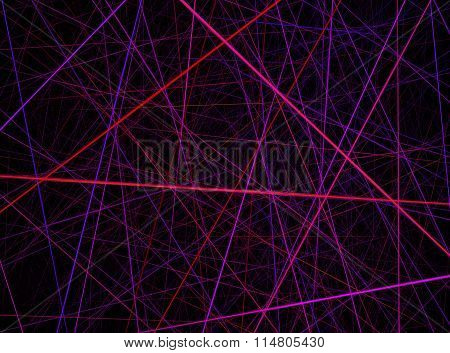 Red Pink Violet Laser Background