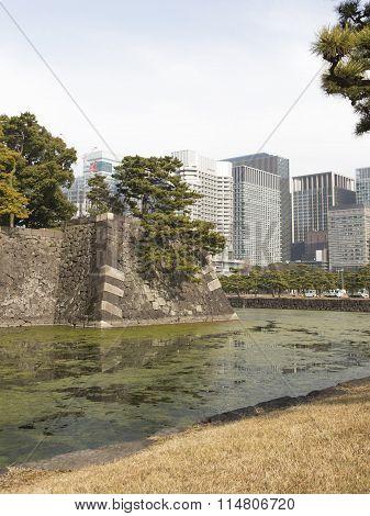 City Landscape In Tokyo, Japan
