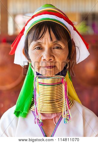 Long-Neck woman, Myanmar