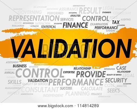 Validation Word Cloud