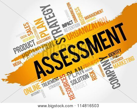 Word Cloud With Assessment