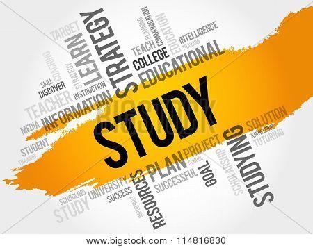 Study Word Cloud