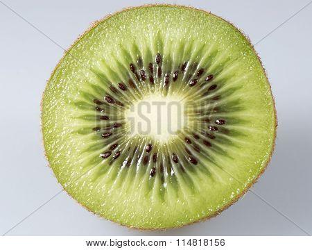 Sliced Kiwifruit Close Up