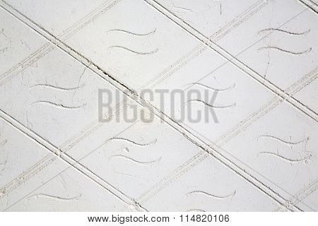 Old  Milan      In Italy  Concrete  Brick   The    Abstract  Stone
