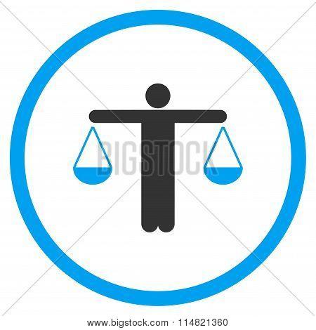 Lawyer Flat Icon