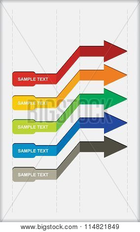 Vector Flow Chart Template