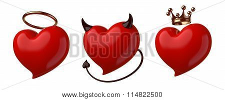 Red Hearts Set.