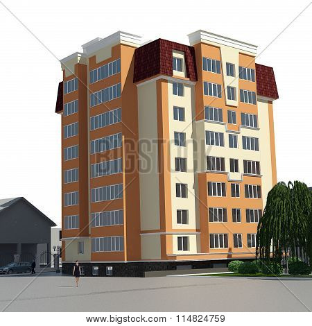 Residential 3D View