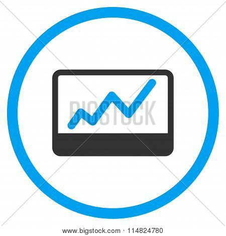 Stock Market Charts Icon