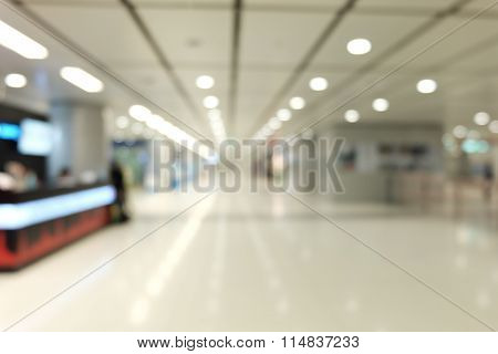 platform  in blur photo