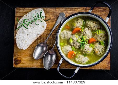 Koftas Or Meatballs, In A Mild Creamy Curry Sauce
