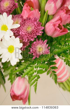 Muted Toned Flower Bouquet