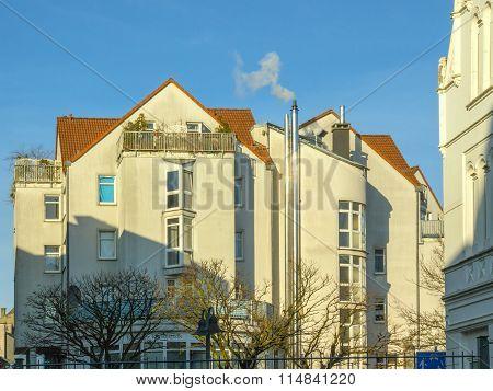 Old house in Bochum-Wattenscheid