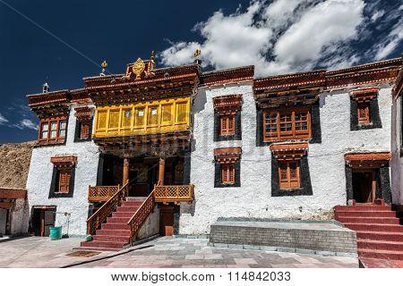 Likir Gompa (Tibetan Buddhist monastery). Ladakh, India